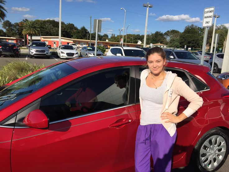 """""""Justin is a very good salesman, he was very patient and answered every question I had!"""" Thank you for your business Mrs. Natal! We're happy to hear that Justin could answer any questions you had and make sure you left here with an """"exceptional"""" experience! We hope you are enjoying your brand new 2016 Hyundai Elantra and please, if there's anything we can do, don't hesitate to ask… We're here to help! #LakelandAutomall #LakelandHyundai #HyundaiElantra #2016Elantra #Hyundai"""
