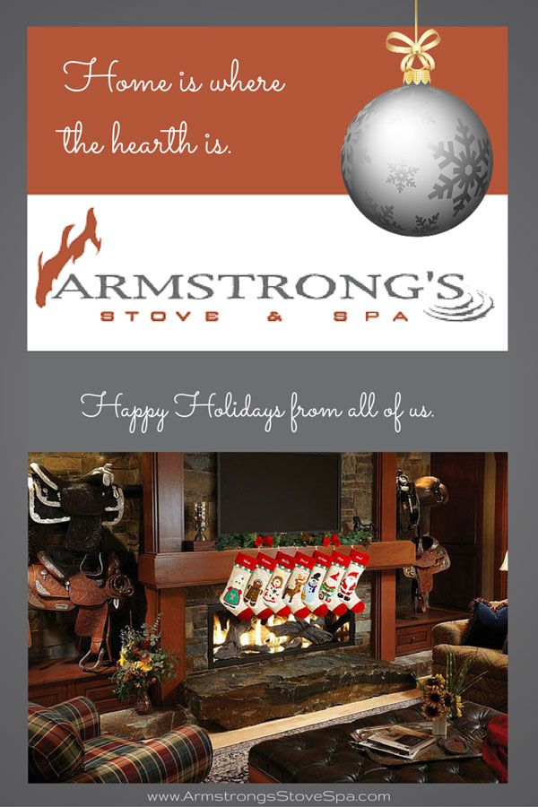 Home is where the hearth is - Armstrong's Stove & Spa