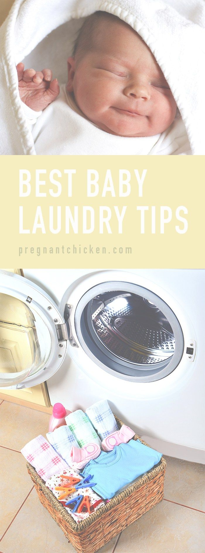 We've compiled a list of the best baby laundry tips from our readers into one place. From stain removing to detergent choices these hacks should be helpful