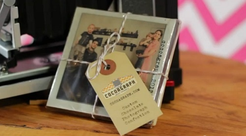 Turn Your Instagram Photos Into Edible Chocolate Bars from Cocograph.  Turning ANYTHING into chocolate is a KILLER idea.