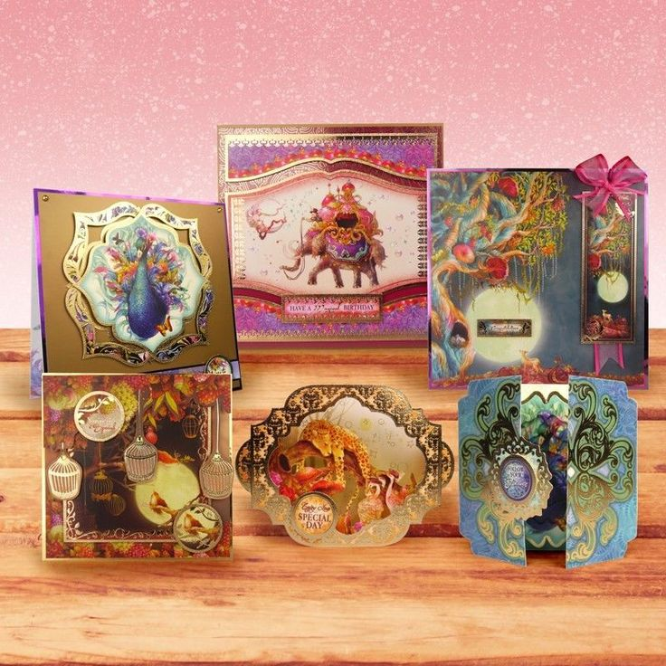 HUNKydory Luxury Card making KIT -PICK of The MONTH  SPECIAL OFFER -IDEAL GIFT