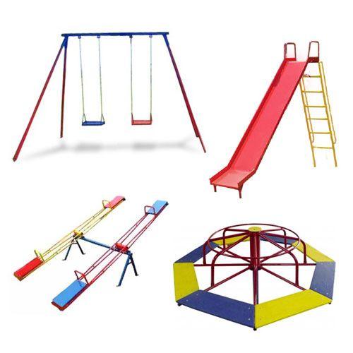 Promoção Playground de Ferro Completo