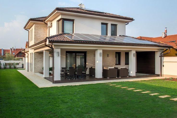 CUBUS Építésziroda Kft. - Modern mediterrán lakóház