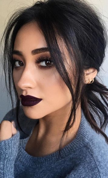 Shay Mitchell is the reason we are desperate to get our hands on this unusual lip shade...