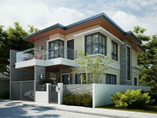 window design and house color scheme - New Contemporary Home Designs