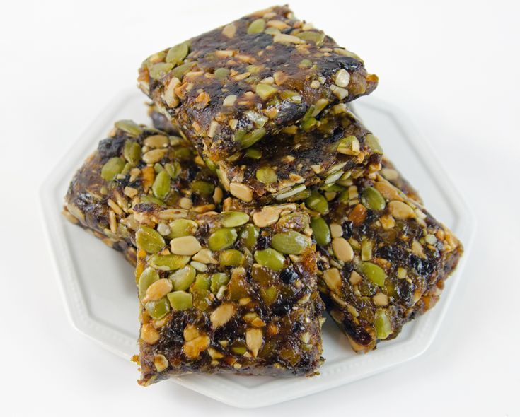 Healthy Fruit and Seed Bars - 100% Natural. Makes a great breakfast or ...
