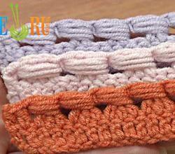 Crochet The Puff Stitch Around Posts Tutorial 39 Around Decrease Stitch | ifood.tv