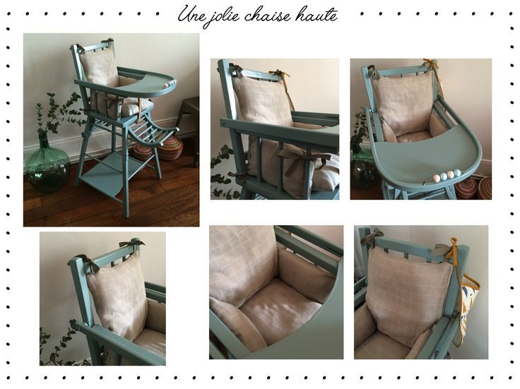 DIY : coussin pour chaise haute combelle