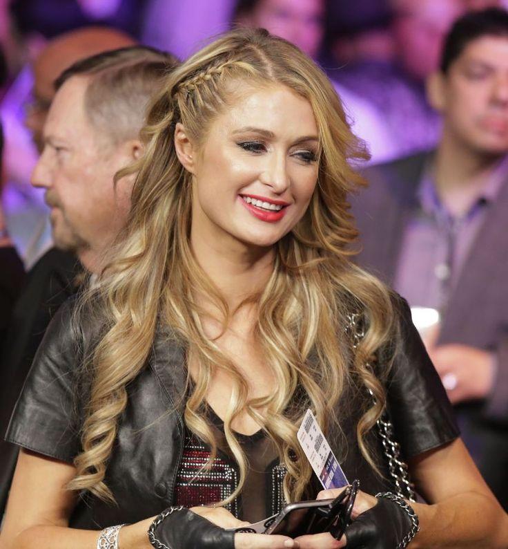 Paris Hilton – Mayweather VS Pacquiao in Las Vegas : Global Celebrtities (F) FunFunky.com