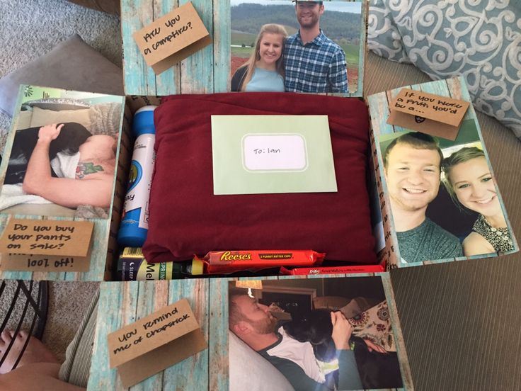 Deployment package for boyfriend equipped with corny jokes!