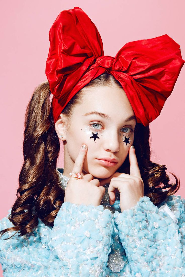 Glittered Maddie Ziegler for Paper Magazine – Fubiz Media