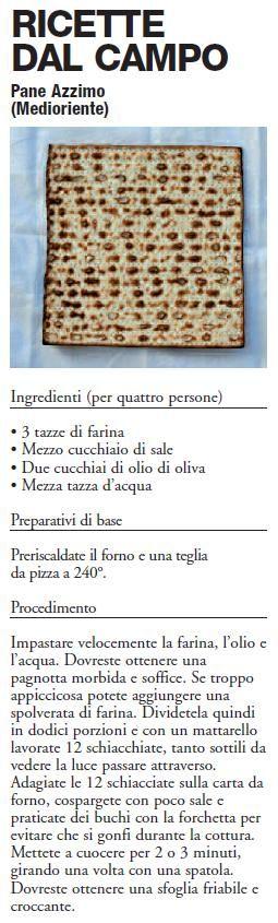 Ricette dal campo - pane azzimo.  www.unhcr.it