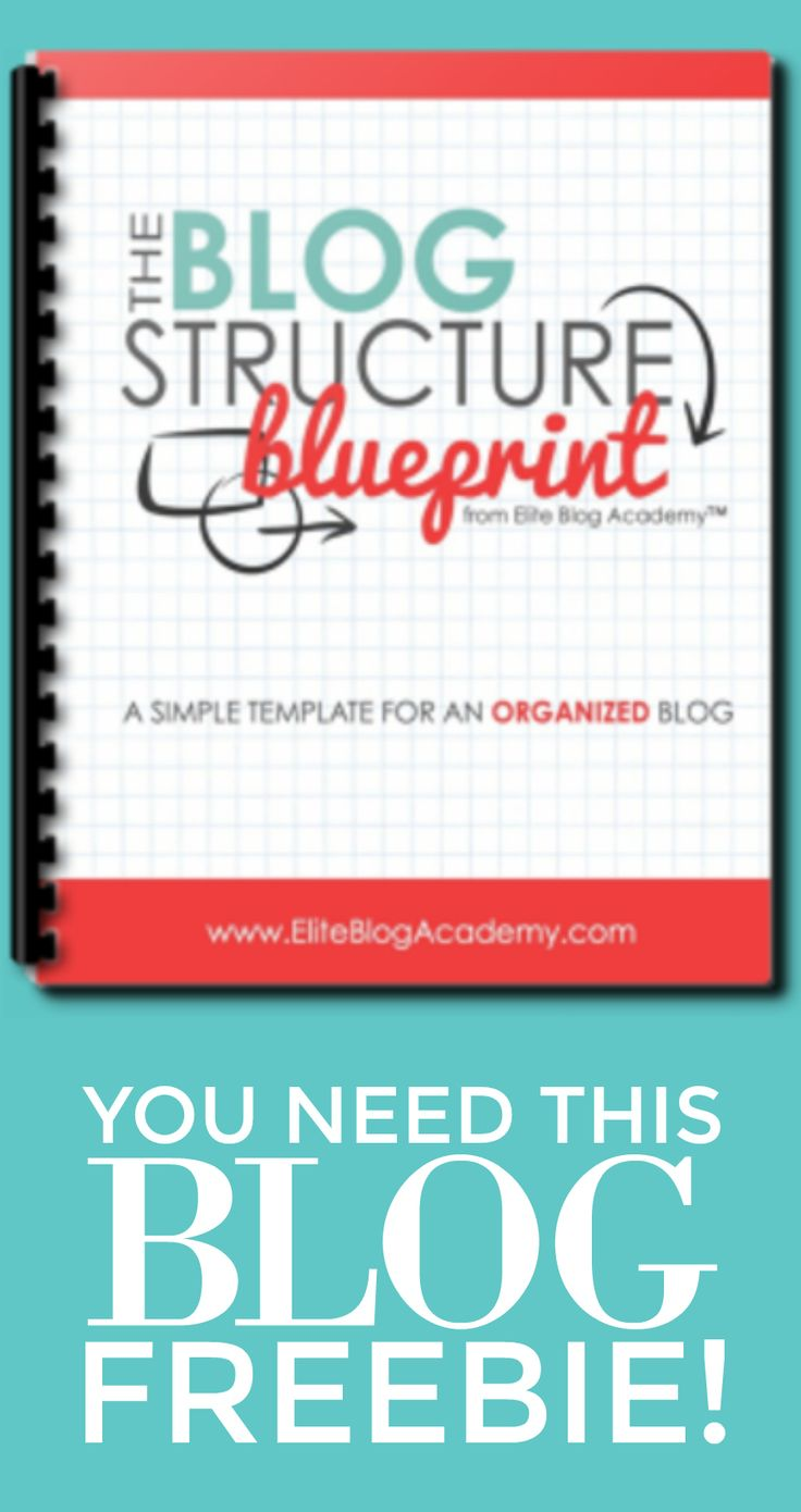 With the EBA Blog Structure Blueprint, you can start organizing your blog right away. This is completely FREE and is a great blogging freebie! #aff