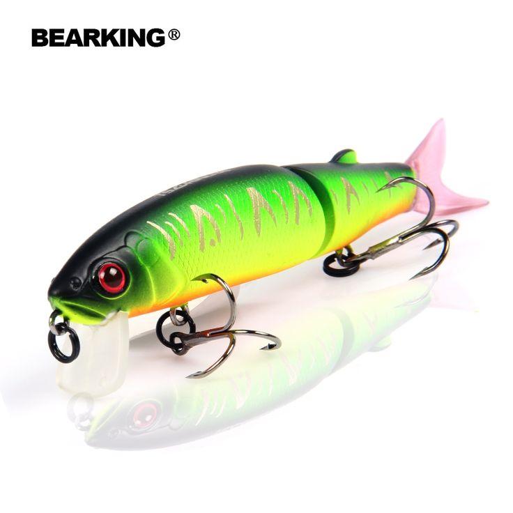 Bearking good fishing lure minnow quality professional ...