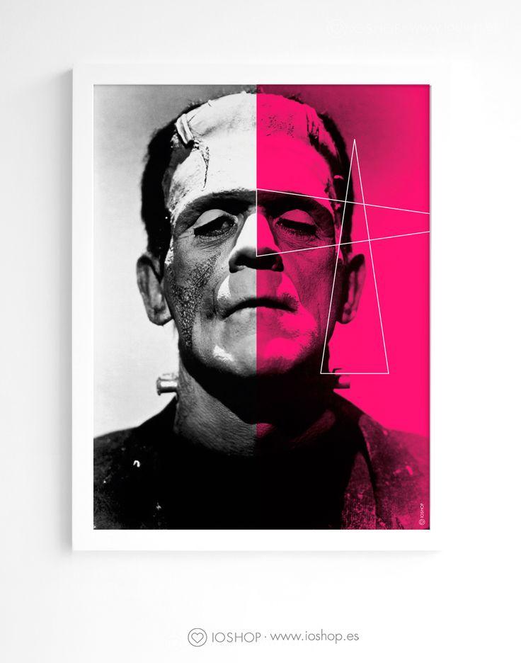 Lámina Frankenstein www.ioshop.es