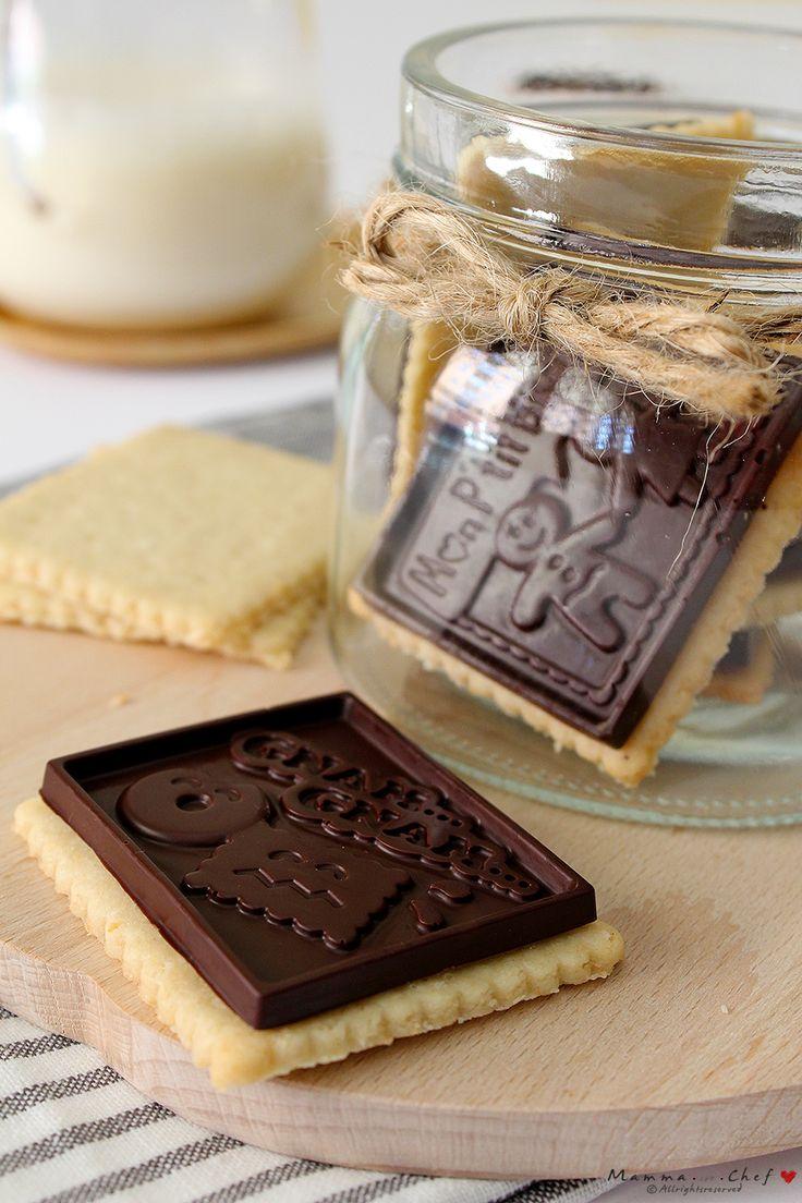 Biscottini cocco e cioccolato