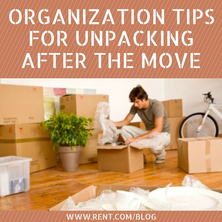 Unpacking can be a very overwhelming process, so take a look at these organization tips to keep you sane while you unpack. See them now on The Shared Wall!