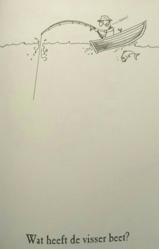 Tekenboek: visser