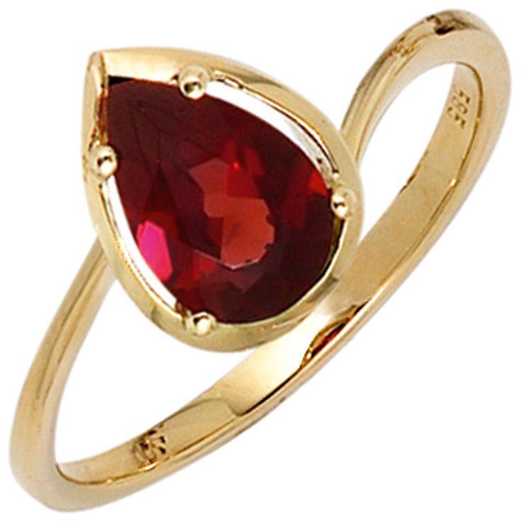 Damen Ring 585 Gold Gelbgold Granat rot Goldring | Schmuck günstig kaufen Gr.56  https://www.ebay.de/itm/Damen-Ring-585-Gold-Gelbgold-Granat-rot-Goldring-Schmuck-guenstig-kaufen-Gr-56-/162772803398?refid=store&ssPageName=STORE:accessorize24-de