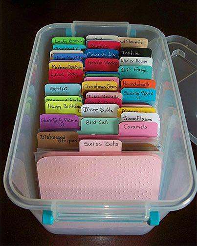 Storage Share Embossing Folders