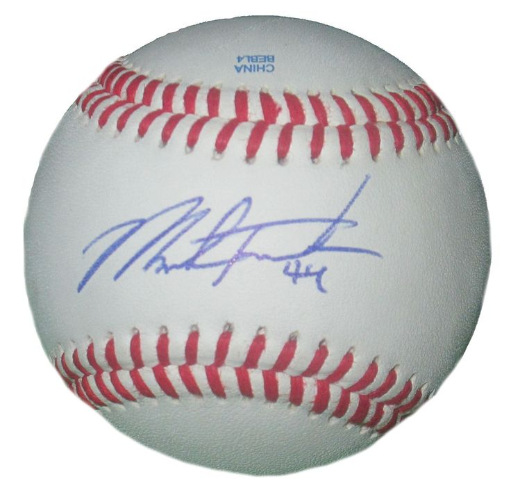 Mark Trumbo Autographed Rawlings ROLB1 Leather Baseball, Proof  #MarkTrumbo #AllStarGame #ASG #AllStar #ArizonaDiamondbacks #AZDiamondbacks #ArizonaDbacks #AZDbacks #Arizona #AZ #Diamondbacks #Dbacks #Snakes #MLB #Baseball #Autographed #Autographs #Signed #Signatures #Memorabilia #Collectibles #FreeShipping #BlackFriday #CyberMonday #AutographedwithProof #GiftIdeas #Holidays #Wishlist #DadsGrads #ValentinesDay #FathersDay #MothersDay