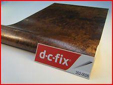 DC FIX Vintage Copper Textured 1mx45cm Sticky Back Plastic Self Adhesive Vinyl