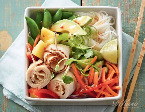Explore flavors like this Mango Turkey Salad Bowl, and share the pin for a chance to win a Visa gift card valued up to $250!  Contest runs Wednesday, March 25, 2015 through 11:59 a.m. CST on Wednesday, April 22, 2015.