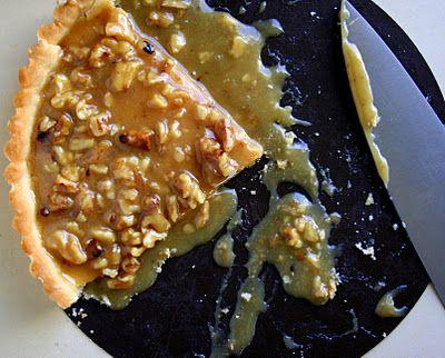 BREANNA'S RECIPE BOX: Caramel Walnut Tart