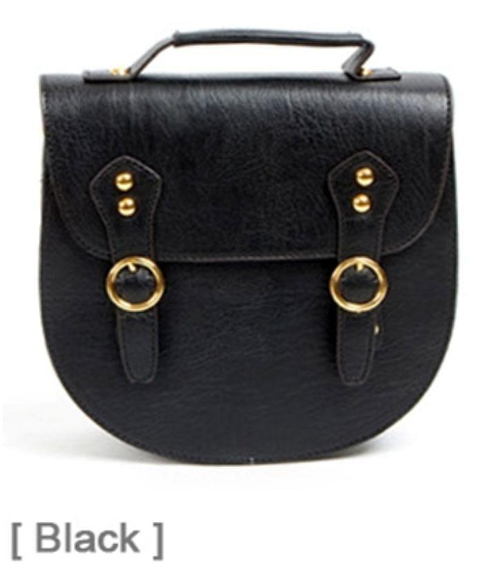 Mala preta Vintage, com aplicações em dourado - Nova Dá para usar como mala de mão ou a tiracolo. Também tenho em vermelho e laranja Excelente qualidade