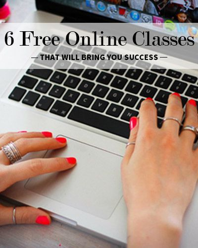 6 Free Online Classes that Will Bring You Success by @Jill Meyers Meyers Meyers Meyers Meyers Meyers Jackson Norris TODAY College