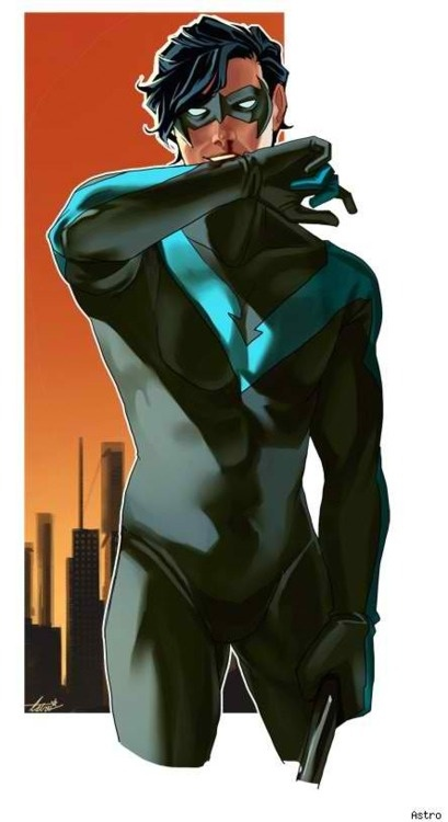 have i pinned this before? well i am pinning it again because...nightwing.
