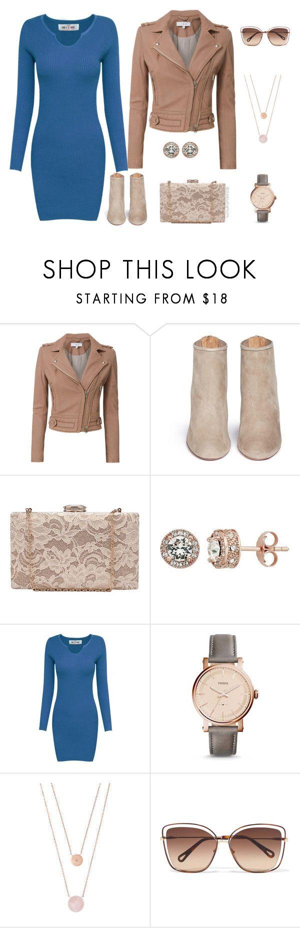 """Leather Jacket"" by stylebyshannonk on Polyvore   #polyvore #fallfashion #fallstyle #sweaterdress #minidress #croppedjacket #leatherjacket #suedeboots #suedeboot #anklebootie #ankleboot #florallace #laceclutch #bridal #doublechain #necklace #rosequartz #boyfriendwatch #womenswatch #diamondearrings #swarovskicrystal #cateye #sunglasses"