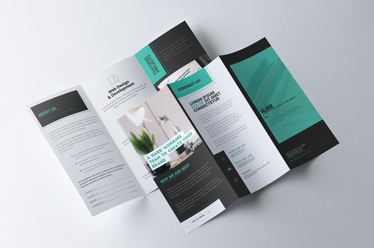 Tri Fold Brochure Template - Premium Quality on Behance