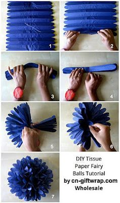 Best DIY Party Pom-poms