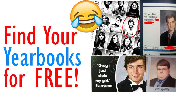 Find Your Yearbooks Online - FREE! - http://gimmiefreebies.com/find-your-yearbooks-online-free/ #School #College #Education #Highschool #Highschoolfriends #Highschoolreunion #Teachers #Yearbook #Yearbookquotes #ad