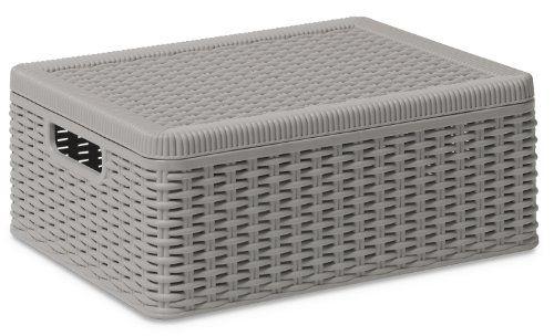 DEA Art 381 Medium Decora Multi-Functional Storage Box, W ...