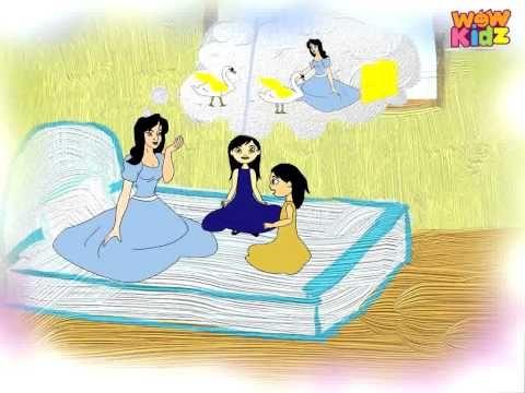 The Golden Swan - Jataka Tales - in Hindi