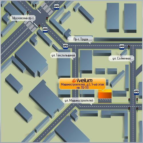 схема проезда, карта проезда