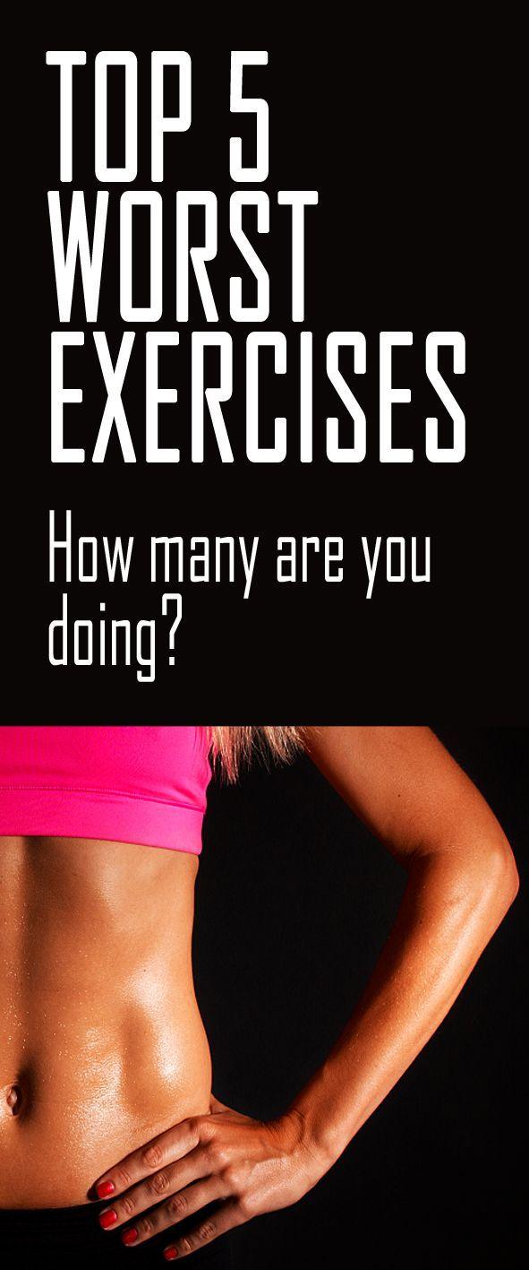 Top 5 worst exercises. #fitness #worstexercises #fitnessmistakes