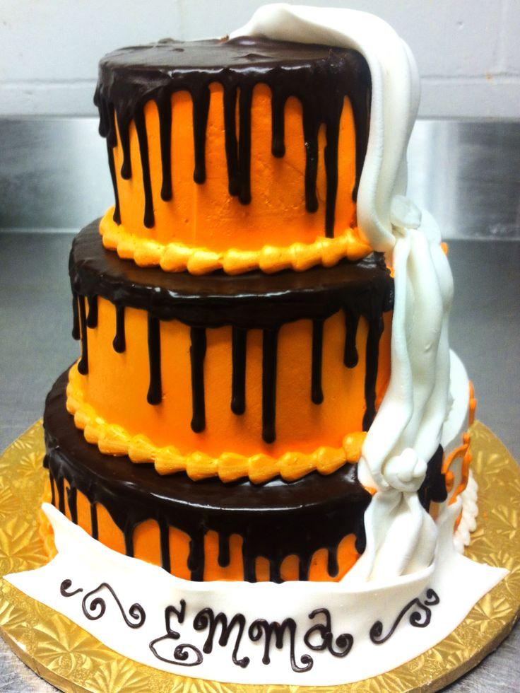 Tiered Sweet 16 cake by Mueller's Bakery!