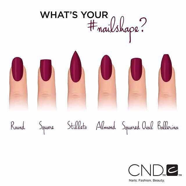 #repost Which nail is your go-to shape this fall? #manicure #nails #CND : @cndworld