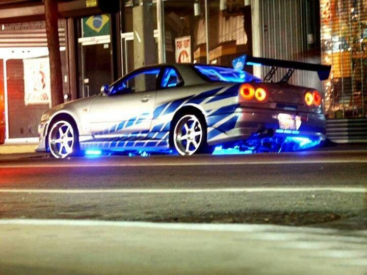 Rip Paul Walker Top Best Fast And The Furious Film: Paul Walker's GTR