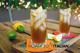 The Slow Roasted Italian - Printable Recipes: Classic Long Island Iced Tea