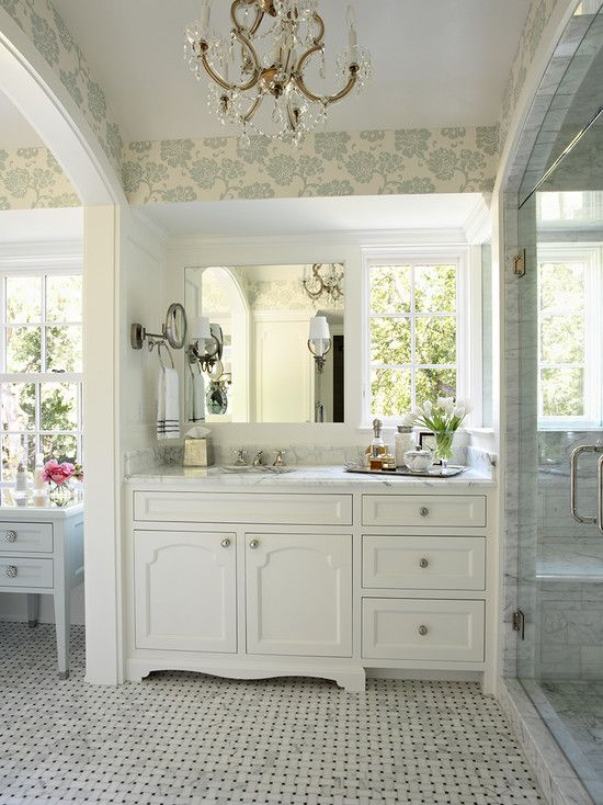 Traditional White Bathroom Designs 1600 best bathroom images on pinterest | bathroom ideas, dream