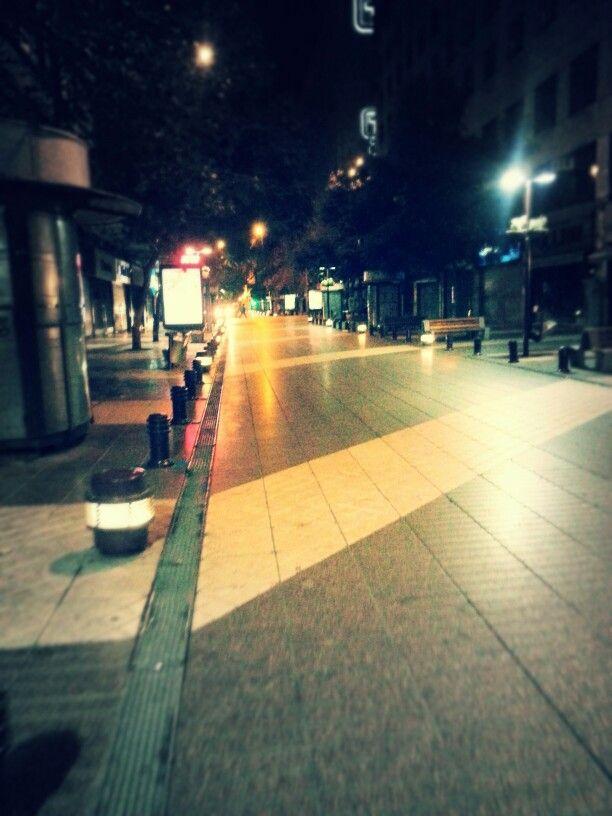 Santiago centro sabado madrugada