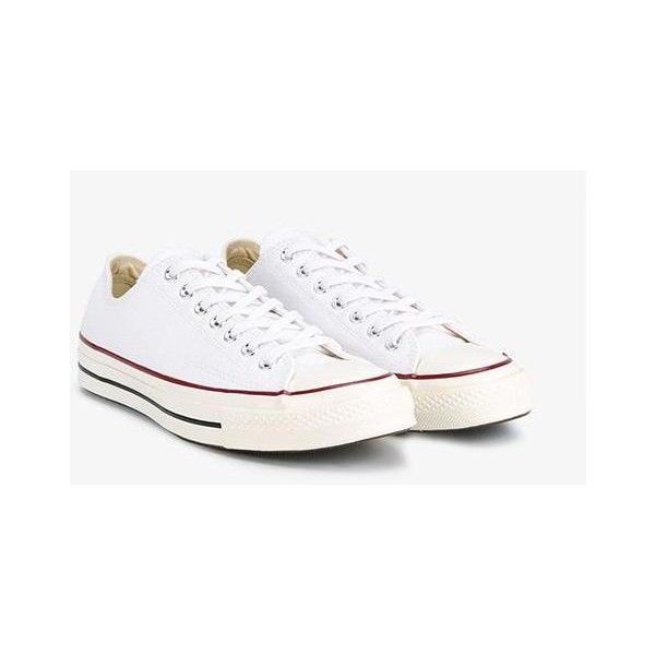 Converse 'All Star' Sneakers (€62) ❤ liked on Polyvore featuring men's fashion, men's shoes, men's sneakers, white, converse mens shoes, g star mens shoes, mens white sneakers, mens white shoes and converse mens sneakers