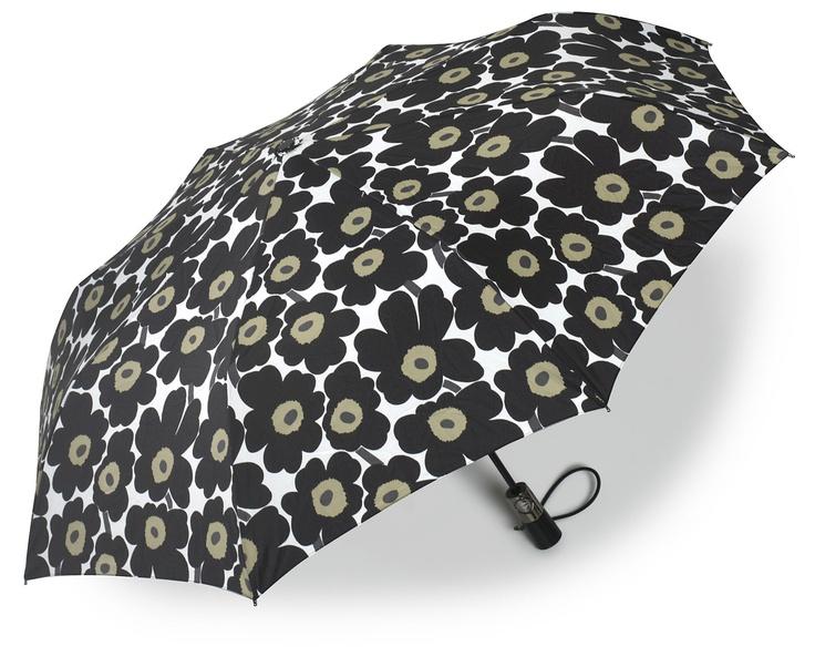 Marimekko raincoat and umbrellas.