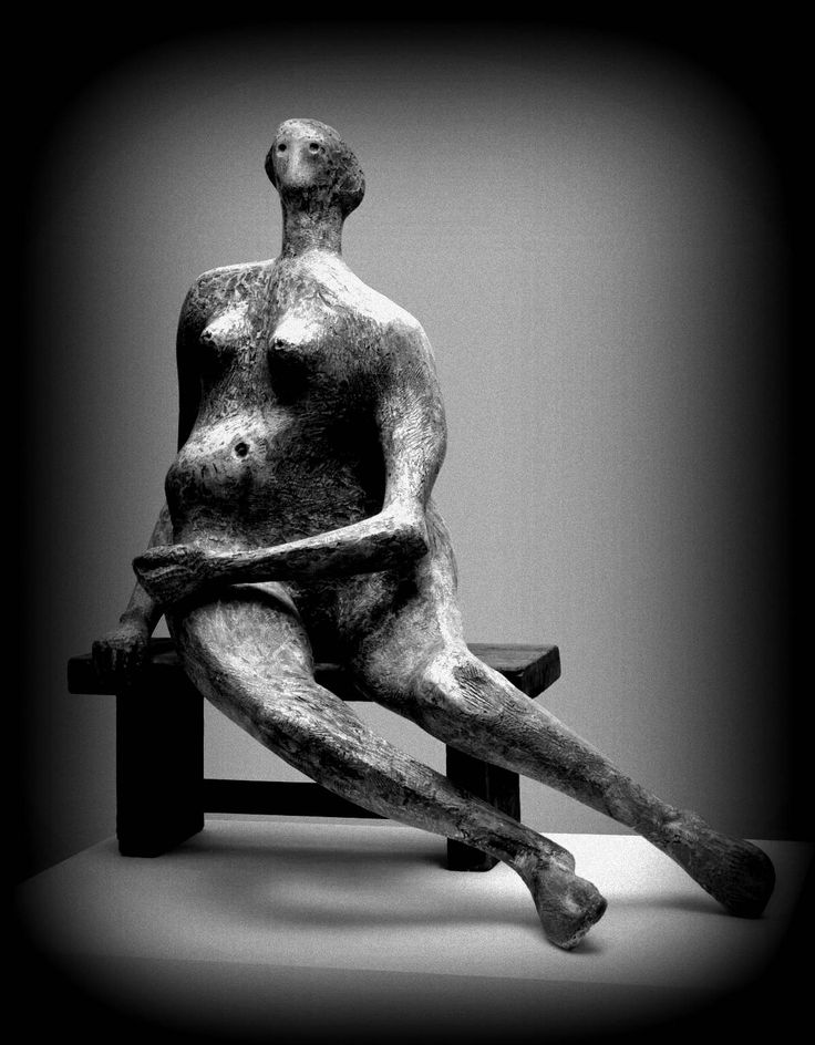 Henry Moore - Seated Woman (1957.)