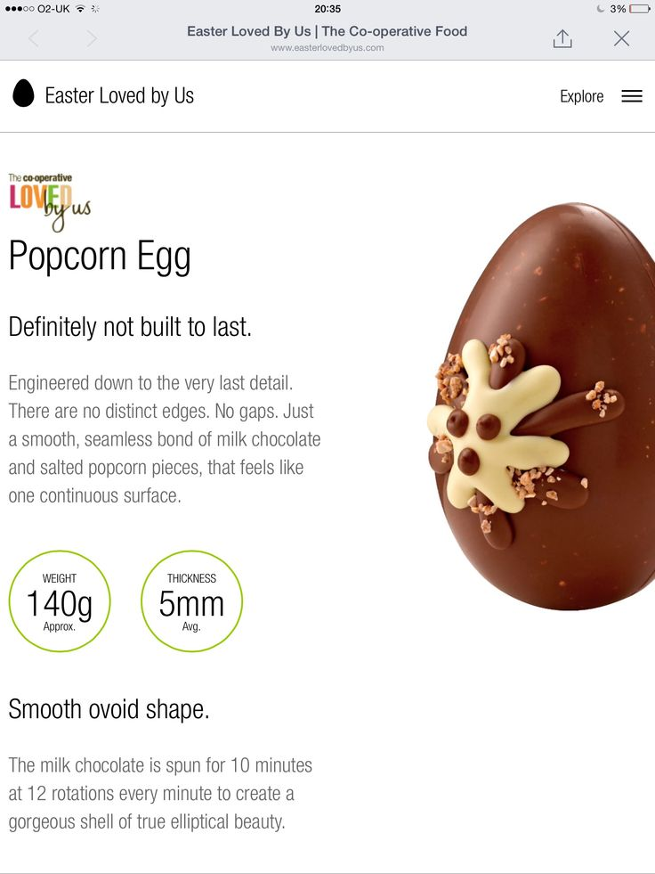 Introducing to Popcorn Egg