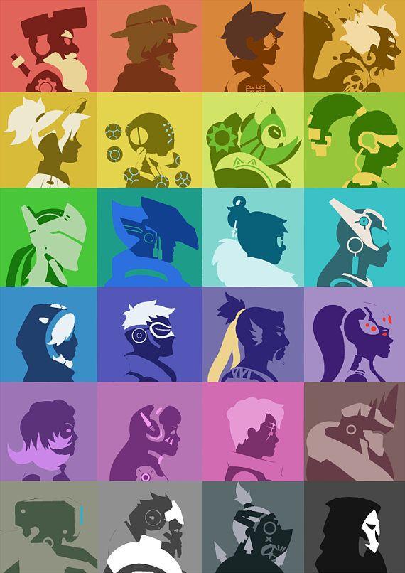 24 héroes Fan-Art